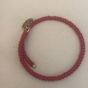 Red bead  Alex and Ani bracelet
